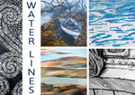 Water Lines exhibition invite
